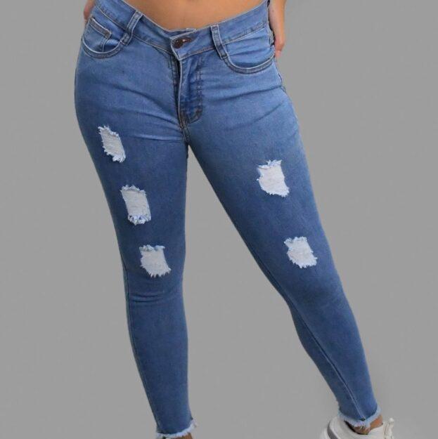 pantalon clasico con flecos 2020